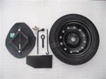 "FREE SHIPPING! OEM 2016 2015 2014 2013 2012 Kia Rio & Rio5 SX Factory 17"" Spare Tire Kit # 09100 1W999 and UHK15 12580"