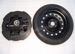"FREE SHIPPING! OEM 2011 2012 2013 2014 2015 Kia Optima Factory 17"" Spare Tire Kit # 09100 4C999 & UKH16 12580T"