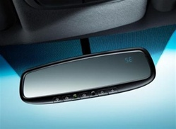 OEM Factory 2015 2014 2013 2012 Kia Rio Auto Dimming Mirror with Homelink and Compass