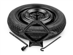 "FREE SHIPPING OEM 2017 Kia Forte 5Dr Hatchback Factory Spare Tire Kit (For 15"", 16"", or 17"" Wheels) # A7F40-AK900 & UKH15-12580"
