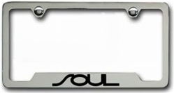 Kia Soul Chrome License Plate Frame